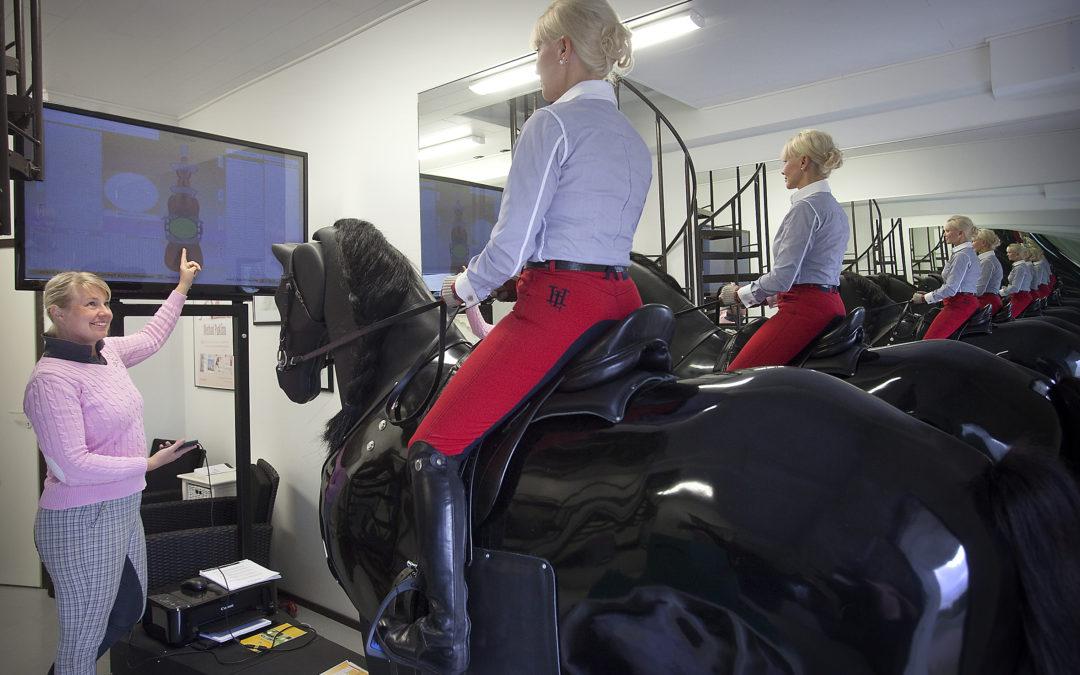 Täsmäohjausta istuntaan simulaattorilla